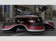 lazzarini's hover coupé is a visionary flying car concept