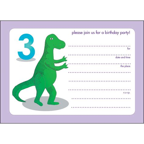 a birthday invitation 17 dinosaur birthday invitations how to sample templates