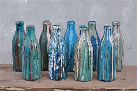 screen printers art studio glass bottle home barn