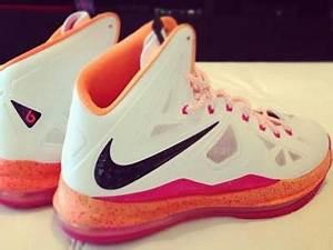 Nike LeBron X Miami Floridians Home Sample – New Photos ...