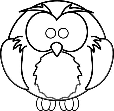 cartoon owl outline clip art  clkercom vector clip