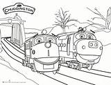 Chuggington Coloring Train Snow Rescue Printable Colouring Sweeps4bloggers Birthday Pdf Printables Super Coloriage Trains Dog Kipper Sheets Wilson sketch template