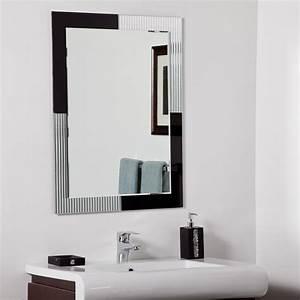 decor wonderland jasmine modern bathroom mirror beyond With bathroom morrors