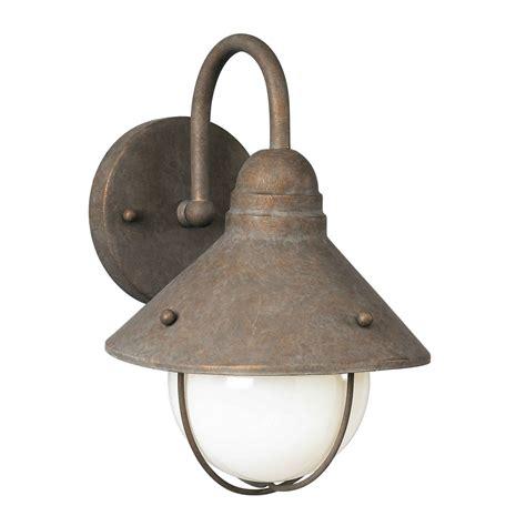 forte lighting 1 light outdoor wall lantern in antique