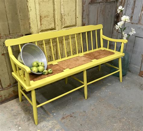 Ideas Collection Yellow Bench Beach Cottage Furniture