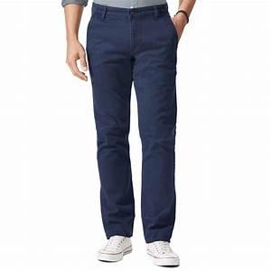 Pantalon Bleu Marine Homme : pantalon alpha khaki original slim tapered dockers en ~ Melissatoandfro.com Idées de Décoration