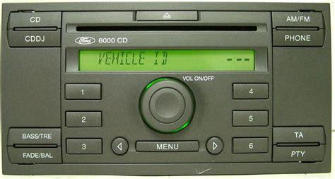 ford 6000 cd info e problemi su autoradio cd6000