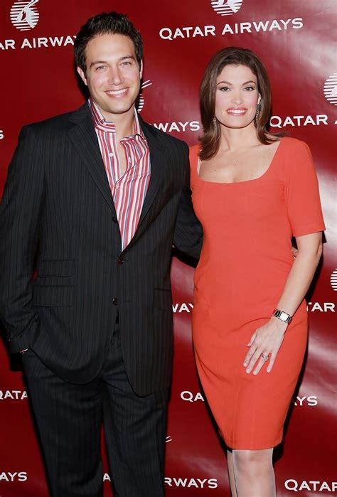 guilfoyle kimberly eric villency qatar inaugural airways hosts gala celebrate zimbio