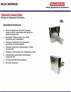 20 Kw Heat Strip For Goodman Package Units Pc  Ph Hk