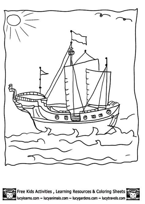 Dessin Bateau Pirate Noir Et Blanc by Coloriage Bateau Pirate Au Crayon Dessin Gratuit 224 Imprimer