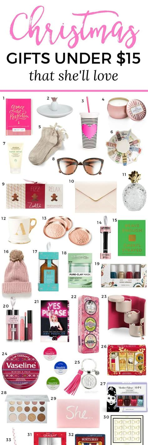 the best christmas gift ideas for women under 15