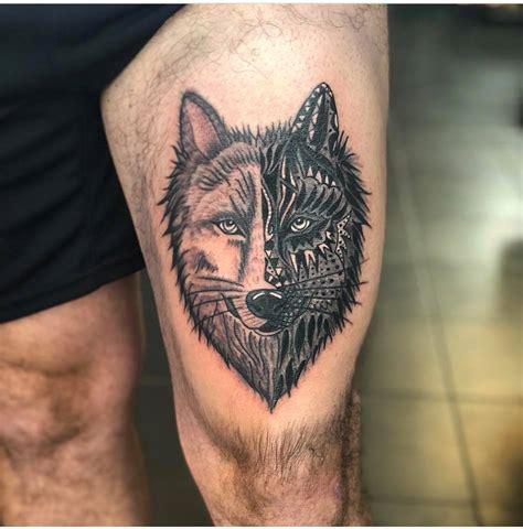 wolf coole designs und symbolische bedeutung