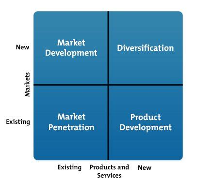 ansoff matrix strategy skills training