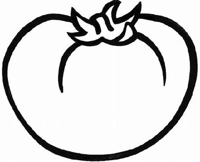 Tomato Coloring Pages Vegetable Tomatoes Printable Vegetables