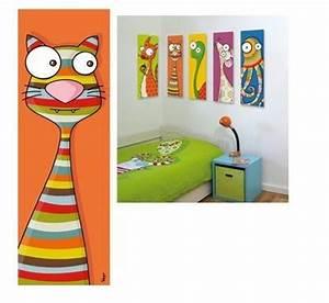 Tableau Chambre Bébé Garçon : tableau enfant original et rigolo place des bambins le blog ~ Teatrodelosmanantiales.com Idées de Décoration
