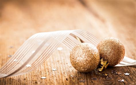 Gold Ornaments Wallpaper by New Year Golden Balls Ornaments Wallpaper