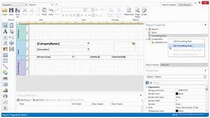 DevExpress Reporting - The WPF End-User Designer - YouTube