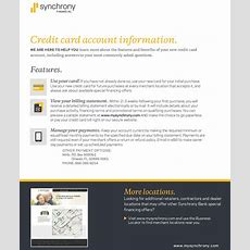 Where Can I Use My Synchrony Financial Home Design Credit