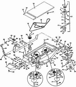 29 Cub Cadet Mower Deck Belt Diagram
