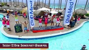 Tuesday main events Club Med Punta Cana 2017 - YouTube