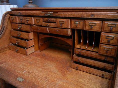 bureau d 騁ude b騁on bureau ancien quot am 233 ricain quot 224 29 tiroirs