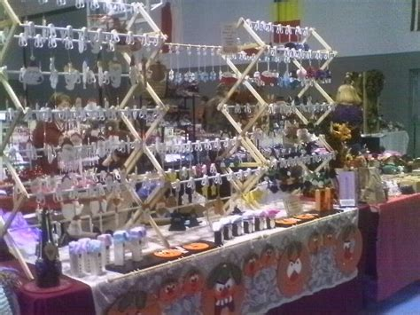 christmas ornament display some halloween craft show