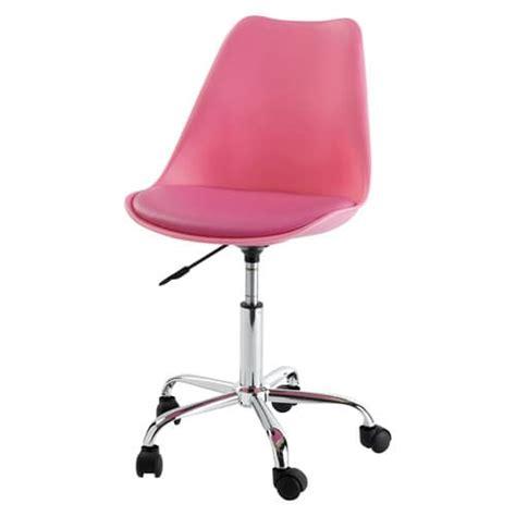 roulettes pour chaise de bureau chaise de bureau à roulettes bristol maisons du monde