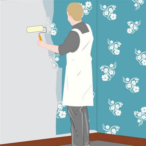 peindre sur du papier peint papier peint