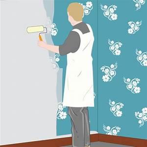 Peindre Sur Papier Peint Relief : peindre sur du papier peint papier peint ~ Dailycaller-alerts.com Idées de Décoration