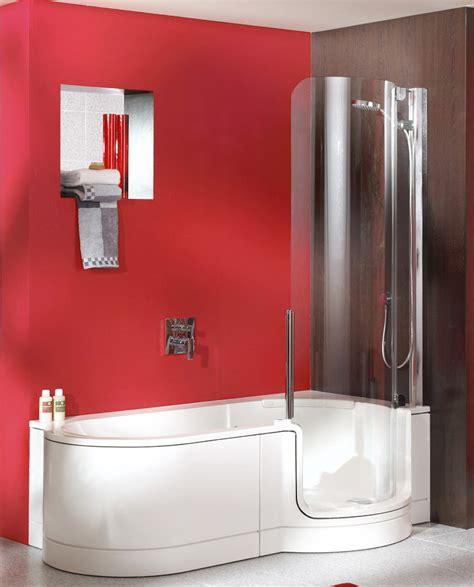 badewanne mit dusche kombiniert badewanne mit integrierter dusche