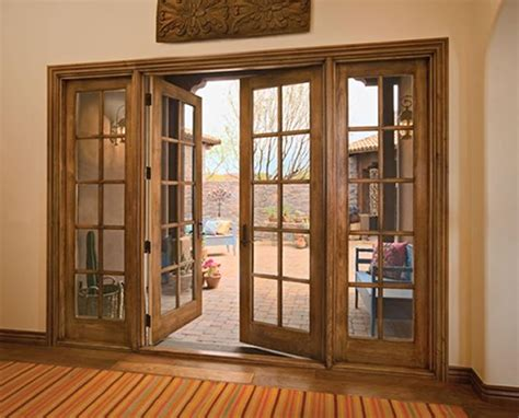 Decorative French Doors by Exterior Wood French Doors To Bring In The Outside