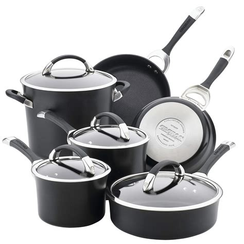 cookware circulon anodized hard nonstick pans symmetry pots safe piece dishwasher aluminum amazon rated sets glass kitchen oven stoves commercial