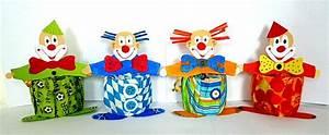 Tischdeko Fasching Ideen : clowns aus hexentreppen fasching basteln meine enkel und ich made with ~ Bigdaddyawards.com Haus und Dekorationen