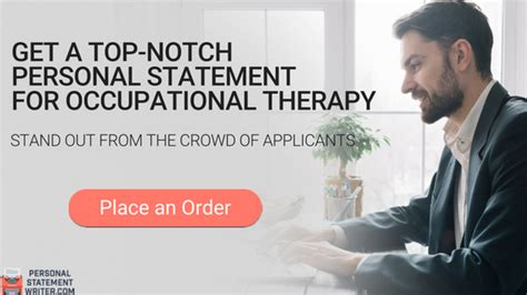 full guide  occupational therapy personal statement writing