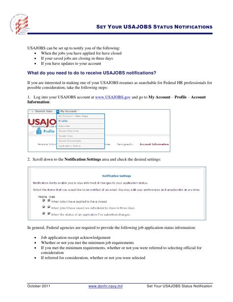 separation tip sheets usajobs gov and navy career wise