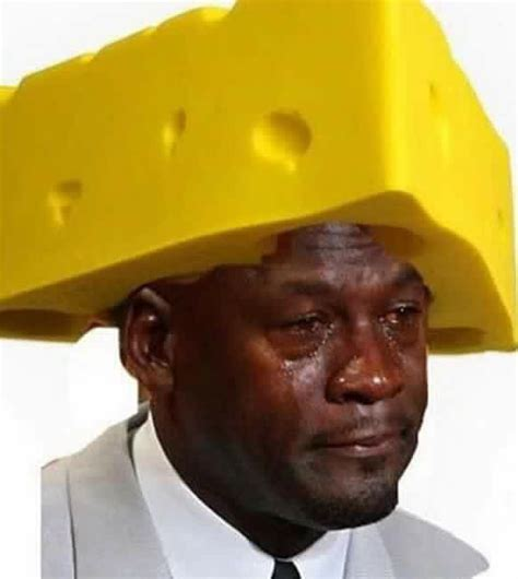 crying jordan cheesehead sportige
