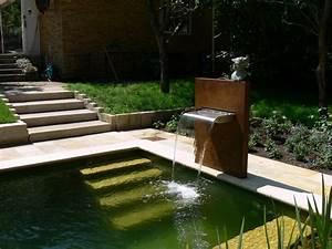 Brunnen Garten Modern : wasserfallbrunnen mekong f r den garten teich oder pool ~ Michelbontemps.com Haus und Dekorationen