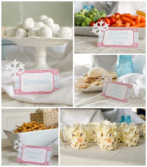 Winter Onederland First Birthday Party  Unoriginal Mom