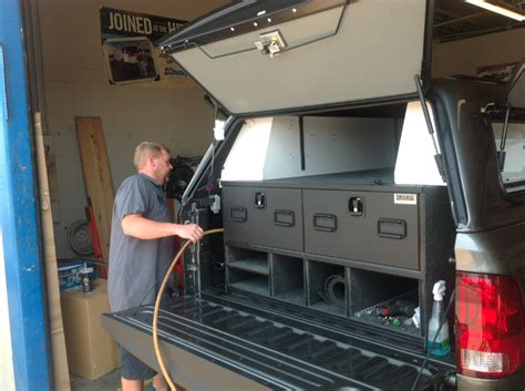 truck storage bed side pickup cap vehicle caps camping google tool bug pick drawers tacoma toyota mods trucks boxes visit