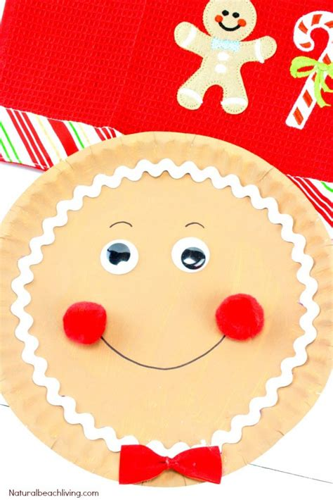 ideas about gingerbread crafts on how to make a gingerbread paper plate craft
