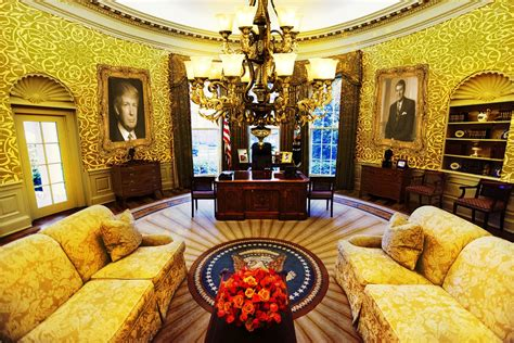 This White House Makeover For President Trump Is Tasteful