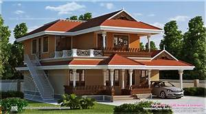 Home Design Sq Ft Beautiful Kerala House Design House