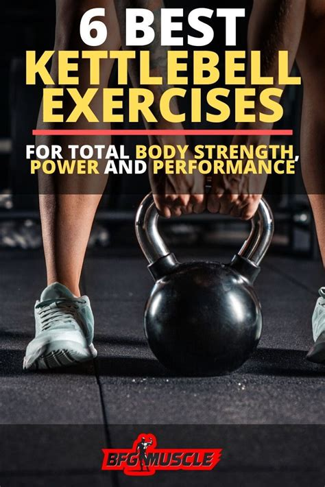 kettlebell body exercises workout strength performance chart exercise weight