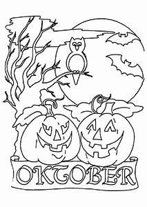Dessin Facile Halloween : coloriage halloween citrouille sur ~ Melissatoandfro.com Idées de Décoration