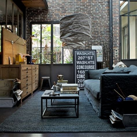 industrial themed living room 30 stylish and inspiring industrial living room designs digsdigs