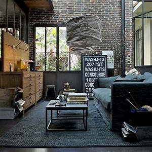 30 stylish and inspiring industrial living room designs for Industrial living room decor
