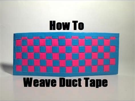 how to make a duct wallet how to make a woven duct tape wallet youtube