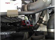 2014 Q5 30t oil leak and internal structure bent