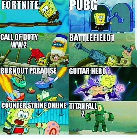 Image Result For Fortnite Memes Funny Spongebob Memes