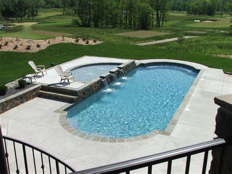 fiberglass pool designs custom fiberglass pools fiberglass pool builders